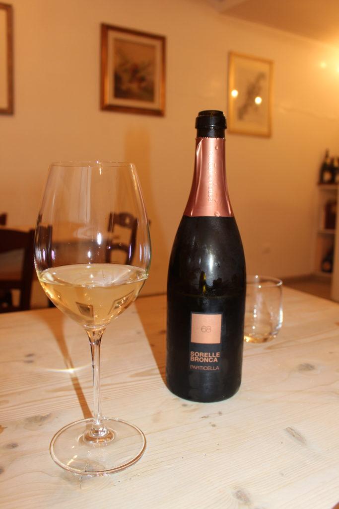 Flasche Prosecco vom Weingut Sorelle Bronca