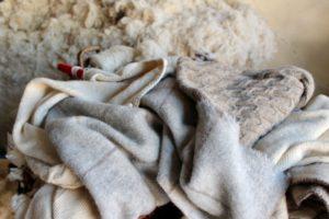 Webmuster in der Textilweberei Lanificio Paoletti